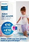 10 € cashback + 10 € donatie longfonds