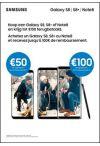 Samsung S8, S8+ en Note8 cashback